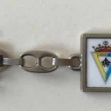 Coleccionismo de llaveros: LLAVERO CÁDIZ CLUB DE FÚTBOL CAMPEÓN TROFEO CARRANZA 1984 - 1985. Lote 194129617