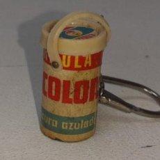Coleccionismo de llaveros: ANTIGUO LLAVERO PUBLICITARIO TAMBOR DE DETERGENTE COLON AÑOS 70 / 80. Lote 194285476
