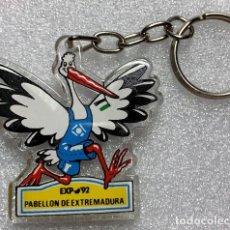 Coleccionismo de llaveros: LLAVERO EXPO 92 PABELLON DE EXTREMADURA. Lote 194362276