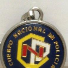 Coleccionismo de llaveros: ANTIGUO LLAVERO CUERPO NACIONAL DE POLICÍA DE LÉRIDA LLEIDA CON ESCUDO DE ESPAÑA . Lote 194542716