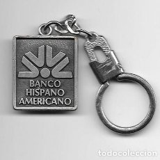 Coleccionismo de llaveros: LLAVERO DE METAL BANCO HISPANO AMERICANO - LLAV-10144 - B-227. Lote 194584116