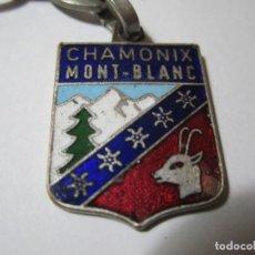 Coleccionismo de llaveros: LLAVERO CHAMONIX MONT-BLANC. Lote 194714426