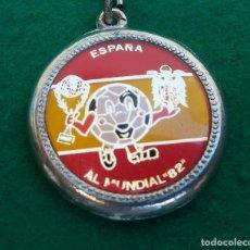 Coleccionismo de llaveros: LLAVERO ESPAÑA EL MUNDIAL 82 AGUILA FRANCO. Lote 194731778