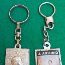 Coleccionismo de llaveros: LOTE DE ANTIGUOS LLAVEROS PRIMO DE RIVERA. Lote 194732001