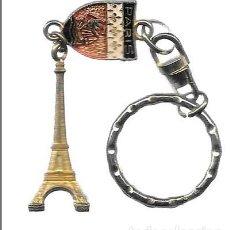 Coleccionismo de llaveros: LLAVERO DE METAL PARIS - TORRE EIFEL - LLAV-10151 - B-228. Lote 194764606