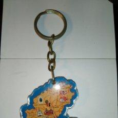 Coleccionismo de llaveros: LLAVERO DE IBIZA ISLAS BALEARES.. Lote 195168336