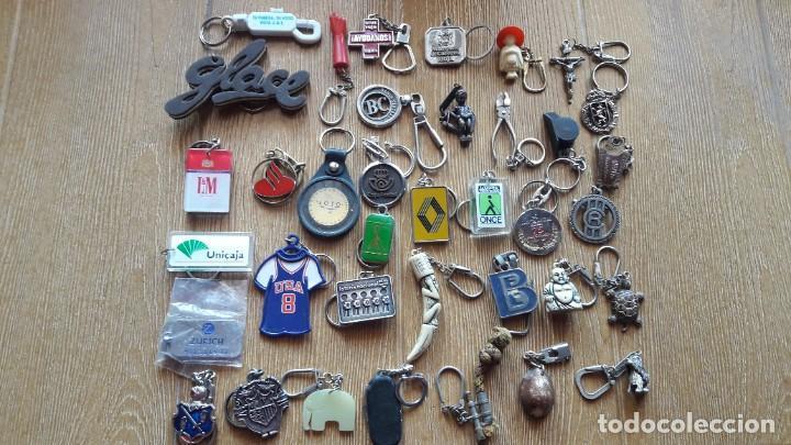 Coleccionismo de llaveros: LOTE DE 114 LLAVEROS EN BUEN ESTADO Y DE TODO MEZCLADO - Foto 4 - 195180733