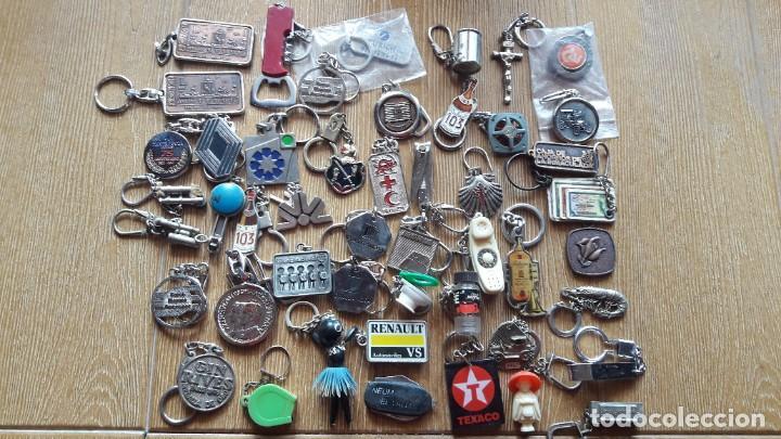 Coleccionismo de llaveros: LOTE DE 114 LLAVEROS EN BUEN ESTADO Y DE TODO MEZCLADO - Foto 2 - 195180733