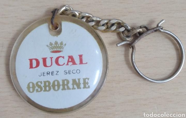 Coleccionismo de llaveros: Llavero Ducal jerez seco Osborne - Foto 2 - 195187256