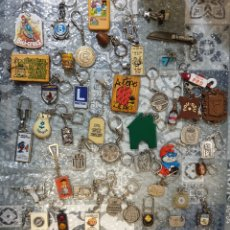 Coleccionismo de llaveros: LOTE LLAVEROS ANTIGUOS. Lote 195255501
