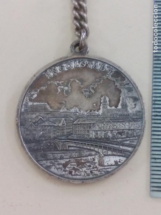 Coleccionismo de llaveros: ANTIGUO LLAVERO DE ALEMANIA. INGOLSTADT. 1934 1984 50 JAHRE B. BÄUMLER - Foto 3 - 195470510