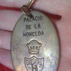 Coleccionismo de llaveros: LLAVERO KEYRING PALACIO DE LA MONCLOA MADRID PRESIDENCIA DEL GOBIERNO ESPAÑA GOVERNMENT OF SPAIN..... Lote 197903080