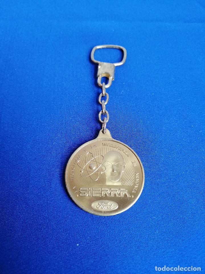 Coleccionismo de llaveros: LLAVERO FORD SIERRA- ANTIGUO - Foto 2 - 197981063