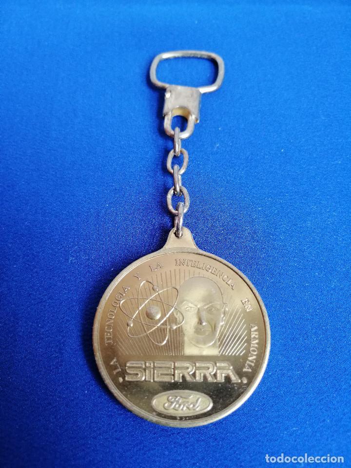 Coleccionismo de llaveros: LLAVERO FORD SIERRA- ANTIGUO - Foto 3 - 197981063