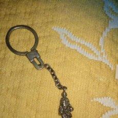 Coleccionismo de llaveros: LLAVERO PLATA SAN ANTONIO. Lote 200041130