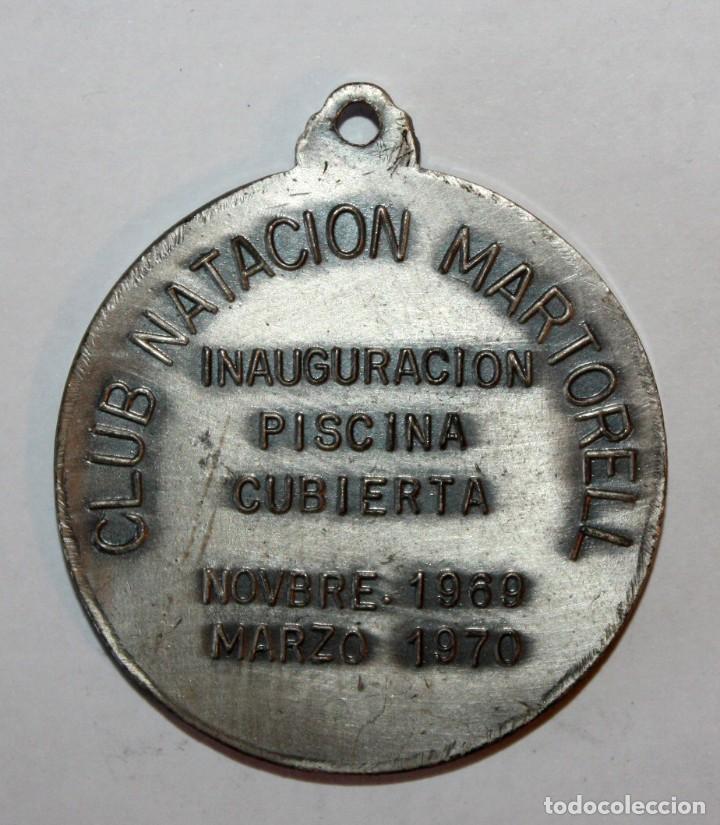 Coleccionismo de llaveros: LLAVERO CLUB NATACIO MARTORELL. INAUGURACION PISCINA CUBIERTA (NOVIEMBRE 1969 - MARZO 1970) - Foto 2 - 201178638