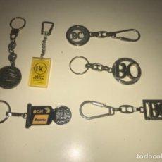 Colecionismo de porta-chaves: LOTE DE 6 LLAVEROS DE COLECCIÓN BANCOS Y CAJAS DE AHORROS ... ZKR. Lote 201983901