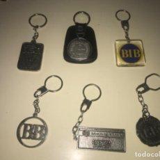 Colecionismo de porta-chaves: LOTE DE 6 LLAVEROS DE COLECCIÓN BANCOS Y CAJAS DE AHORROS ... ZKR. Lote 201985161