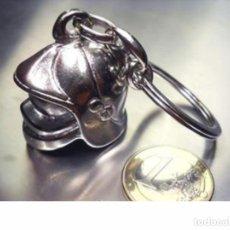 Coleccionismo de llaveros: LLAVERO CASCO BOMBERO. Lote 219900201