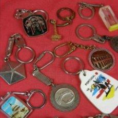 Coleccionismo de llaveros: LOTE DE 27 LLAVEROS. Lote 202622330