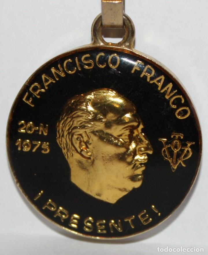 LLAVERO DE JOSE ANTONIO PRIMO DE RIVERA - FRANCISCO FRANCO BAHAMONDE (Coleccionismo - Llaveros)