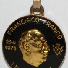Coleccionismo de llaveros: LLAVERO DE JOSE ANTONIO PRIMO DE RIVERA - FRANCISCO FRANCO BAHAMONDE. Lote 203805395