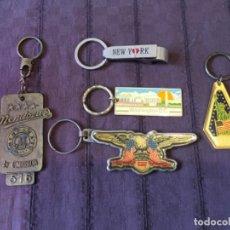 Colecionismo de porta-chaves: LOTE 5 LLAVEROS DE USA ESTADOS UNIDOS NEW YORK ... ZKR. Lote 204802272