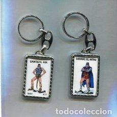 Coleccionismo de llaveros: LLAVERO EL GUERRERO DEL ANTIFAZ Y SANTAHL KIR. Lote 205887211