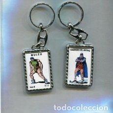 Coleccionismo de llaveros: LLAVERO EL GUERRERO DEL ANTIFAZ Y MULEH. Lote 205887226
