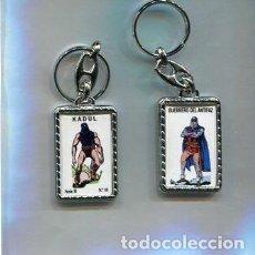 Coleccionismo de llaveros: LLAVERO EL GUERRERO DEL ANTIFAZ Y KADUL. Lote 205887241