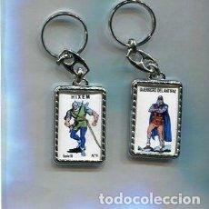 Coleccionismo de llaveros: LLAVERO EL GUERRERO DEL ANTIFAZ Y HIXEM. Lote 205887327