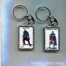 Coleccionismo de llaveros: LLAVERO EL GUERRERO DEL ANTIFAZ Y HARUN. Lote 205887358