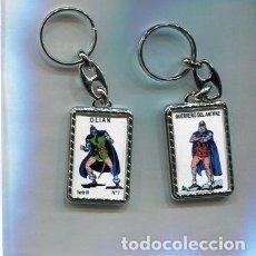 Coleccionismo de llaveros: LLAVERO EL GUERRERO DEL ANTIFAZ Y OLIAN. Lote 205887361
