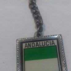 Coleccionismo de llaveros: ANTIGUO LLAVERO ANDALUCIA. Lote 206838232