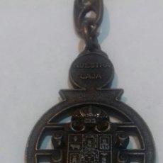 Coleccionismo de llaveros: ANTIGUO LLAVERO MURCIANO NUESTRA CAJA. Lote 206839032