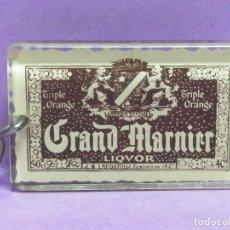 Coleccionismo de llaveros: LLAVERO LICOR GRAND MARNIER DE METRAQUILATO. Lote 206839811