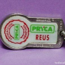 Coleccionismo de llaveros: LLAVERO SUPERMERCADOS PRYCA REUS TARRAGONA CON MONEDA PARA CARRO. Lote 206839995