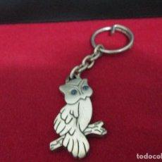 Coleccionismo de llaveros: LECHUZA METAL. Lote 206841306
