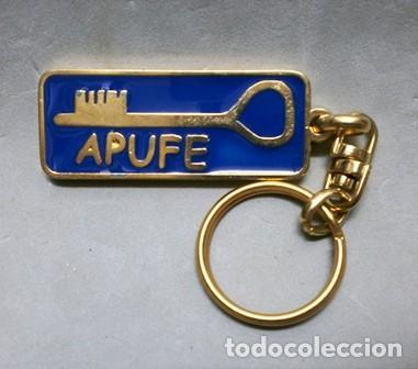 LLAVERO DE METAL APUFE - POR UN FUTURO DE ESPERANZA - LLAV-10498 ,6 - B-244 (Coleccionismo - Llaveros)