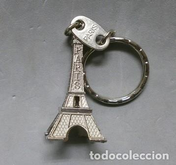 LLAVERO DE METAL TORRE EIFEL PARIS - LLAV-10499 ,3 - B-244 (Coleccionismo - Llaveros)