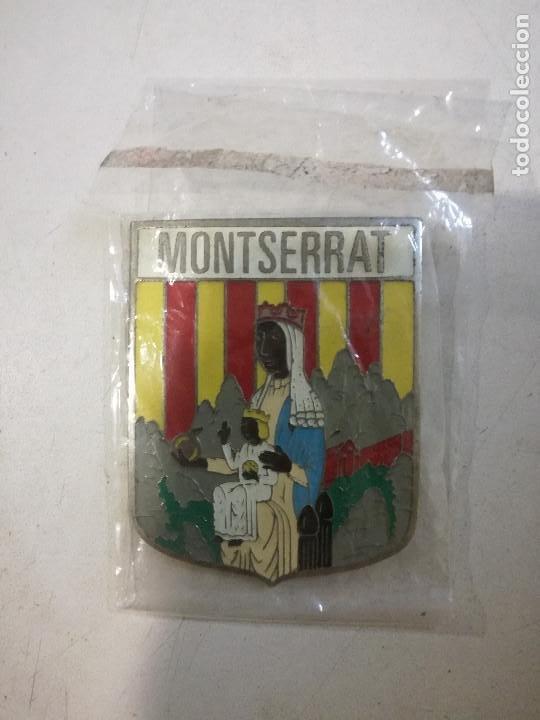 PLACA METALICA CHAPA MONTSERRAT CATALUNYA FOOTBALL KEYCHAIN LLAVERO LLAVEROS (Coleccionismo - Llaveros)