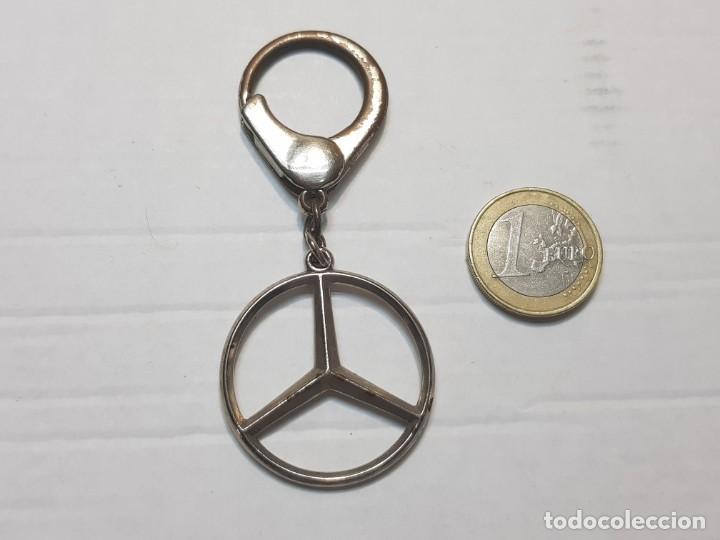 Coleccionismo de llaveros: Llavero antiguo Mercedes Benz totalmente original - Foto 2 - 207368230
