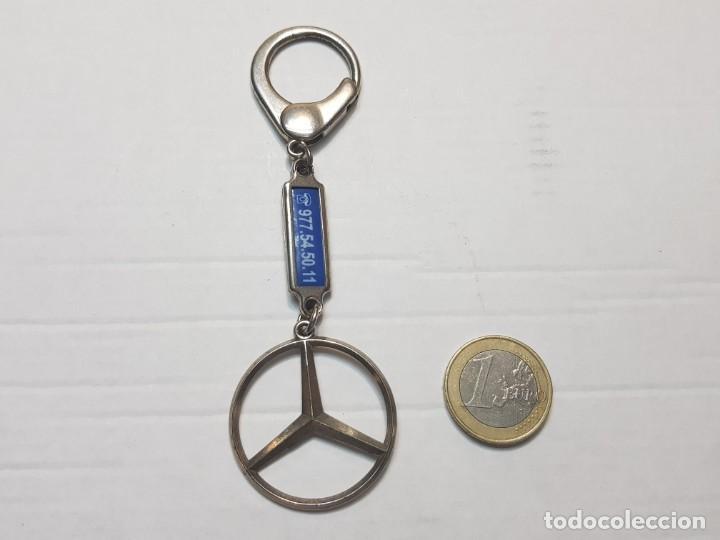 Coleccionismo de llaveros: Llavero antiguo Mercedes Benz totalmente original - Foto 2 - 207368436