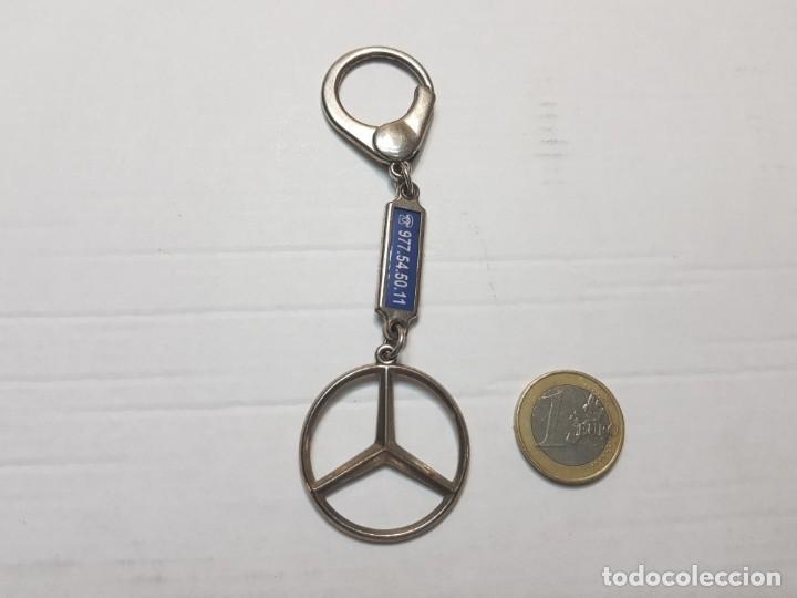 Coleccionismo de llaveros: Llavero antiguo Mercedes Benz totalmente original - Foto 2 - 207368635
