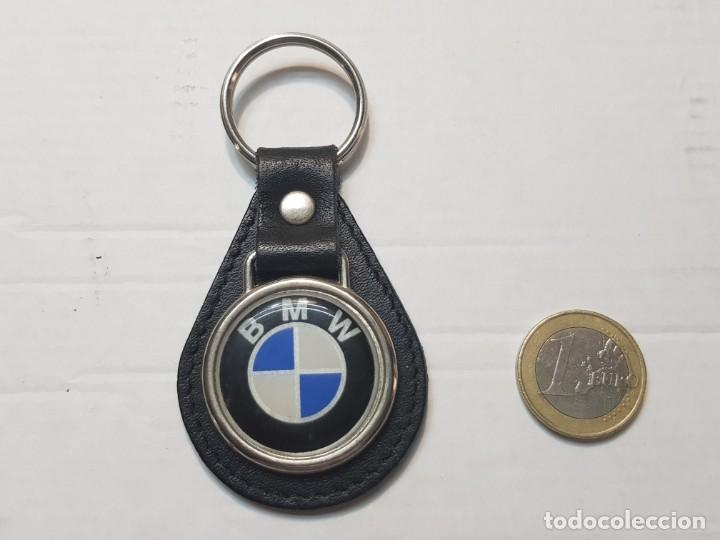 LLAVERO ANTIGUO BMW TOTALMENTE ORIGINAL (Coleccionismo - Llaveros)