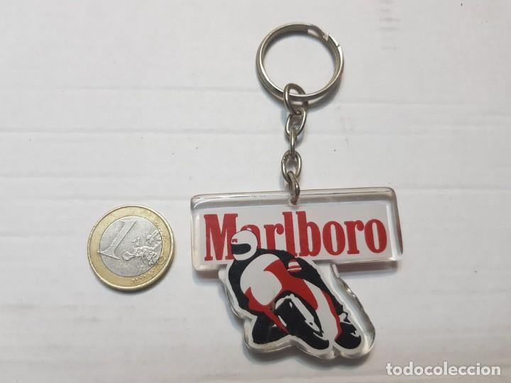 Coleccionismo de llaveros: Llavero antiguo Marlboro tabacos totalmente original - Foto 2 - 207381847