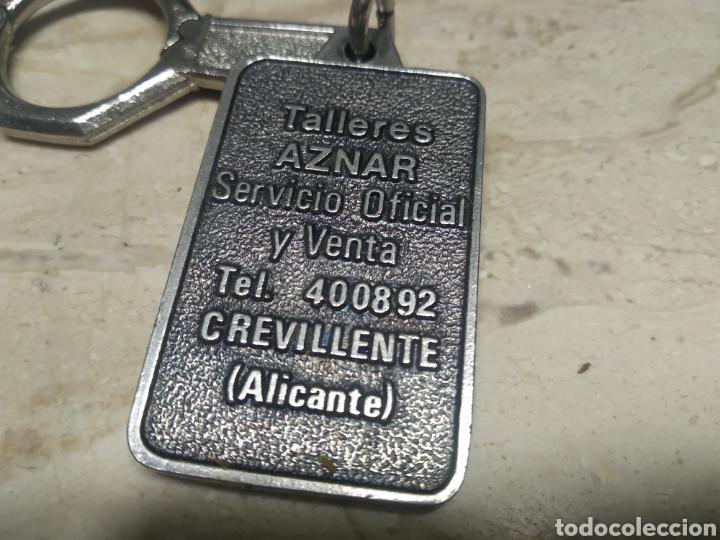 Coleccionismo de llaveros: Llaveros Simca Chrysler Crevillente Alicante - Foto 2 - 208100040