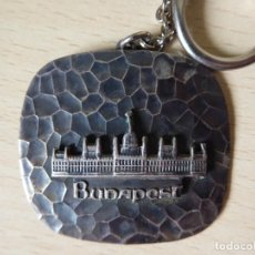 Collectionnisme de portes-clés: LLAVERO BUDAPEST: RELIEVE DEL PARLAMENTO - HUNGRÍA. Lote 210050518
