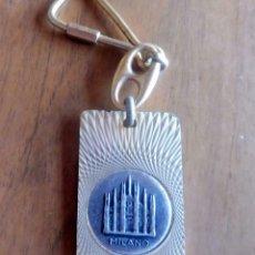 Coleccionismo de llaveros: LLAVERO - MILANO. Lote 210542743