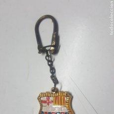 Coleccionismo de llaveros: LLAVERO AÑOS 70 ESCUDO FUTBOL CLUB BARCELONA. Lote 211515595